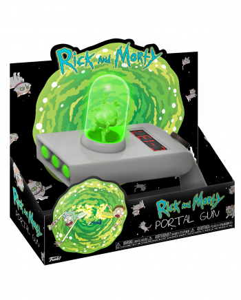 Rick And Morty Portal Gun With Projection
