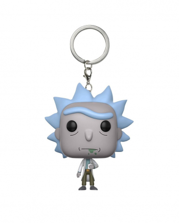 Rick Sanchez Keychain Pocket POP