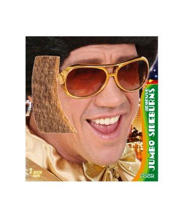 Riesen Koteletten Elvis blond meliert