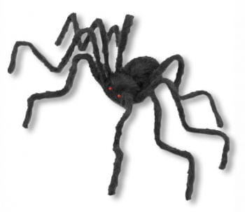 schwarze Monsterspinne 228 cm