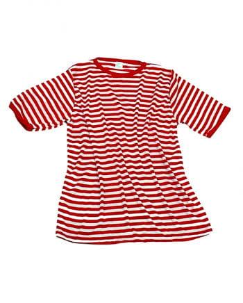 Rot-weißes Ringelshirt