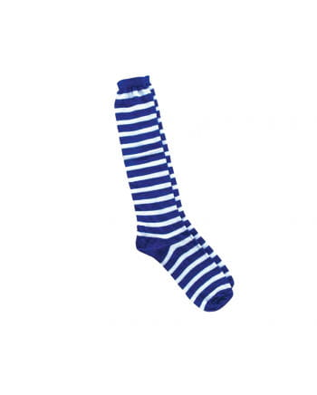 Ringelsocken white-blue