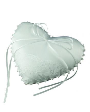 ring kissen in herzform liebevolles detail f r hochzeiten karneval universe. Black Bedroom Furniture Sets. Home Design Ideas
