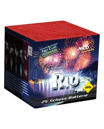 Rio Battery Fireworks 25 shots