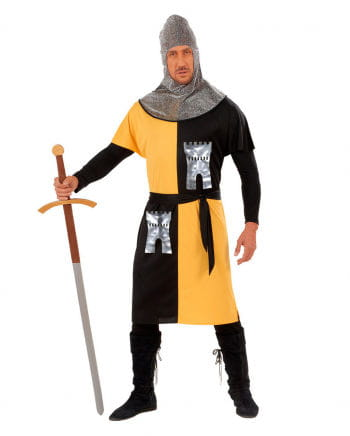 Knight Costume yellow / black Gr. M