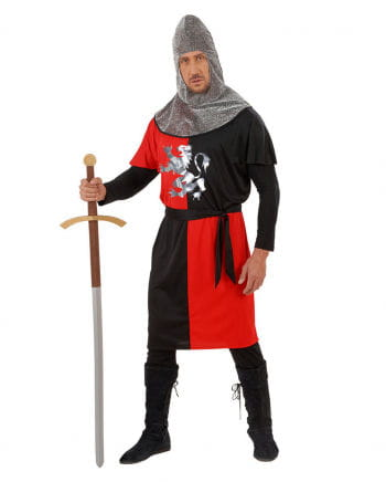 Knight costume red / black Gr. S