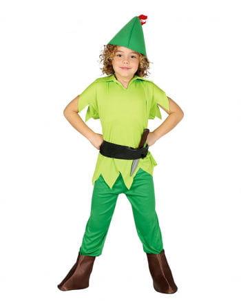 Kinderkostüm Grüner Bogenschütze