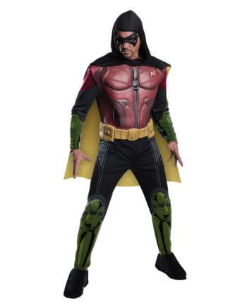 Robin Kostüm mit Muskeln Arkham City