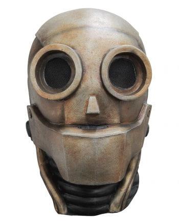 Robot Latex Mask