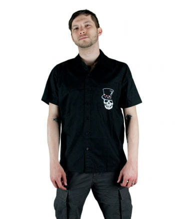 Rockabilly Men Shirt black