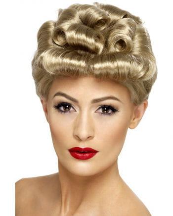 Vintage wig blond