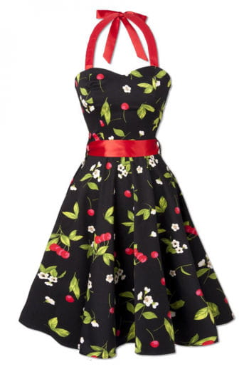 Retro style summer dress Cherry Blossom