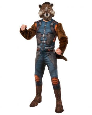 Rocket raccoon costume with mask
