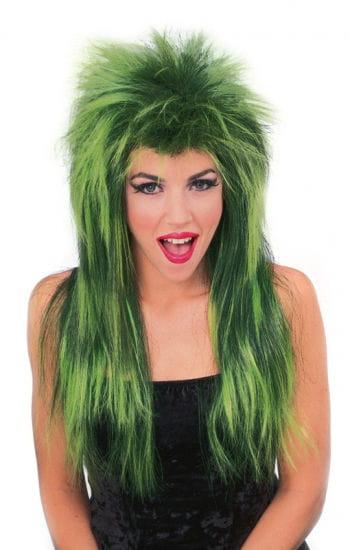 Rockstar Wig Neon Green