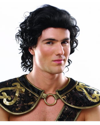 Roman Warrior Wig Black