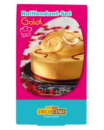 Rollfondant - Set Gold