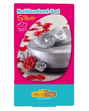 Rollfondant - Set Silver