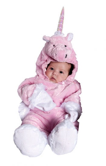 Pink Unicorn Baby Suit