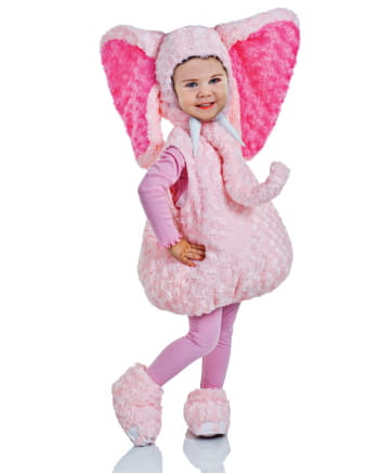 rosa pl schelefanten kleinkinderkost m tierkost me kaufen karneval universe. Black Bedroom Furniture Sets. Home Design Ideas