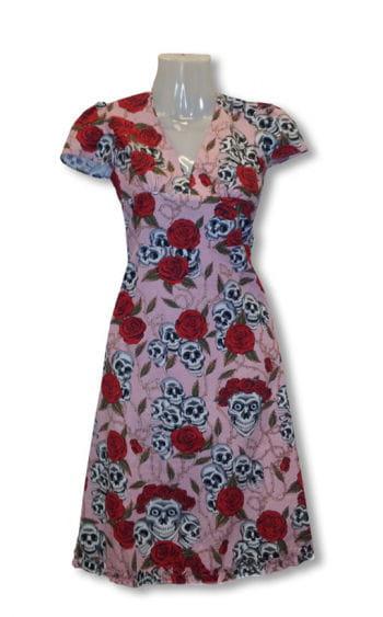 Rosen Kleid pink
