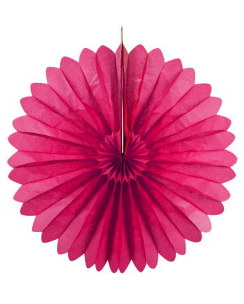 Rosette compartments pink 60 cm