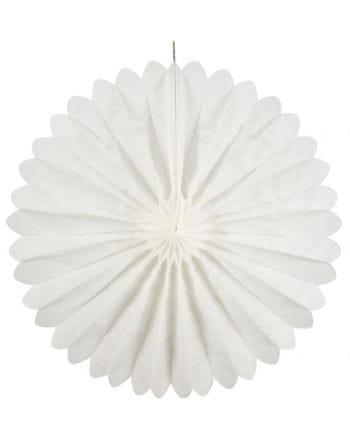 Faltfächer weiß 60 cm