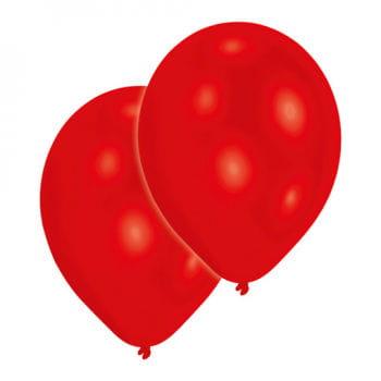 Rote Premium Luftballons 50 St.