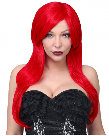 "Red Cosplay Longhair Wig ""Jessica"""