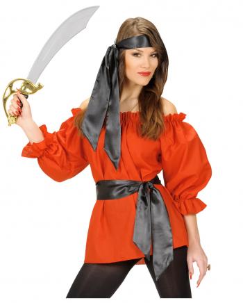 Piratenbluse Rot