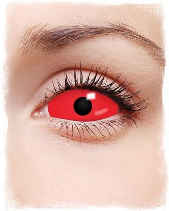 Sclera Motivlinsen rot