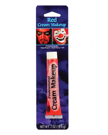 Professional Cream Make Up Red