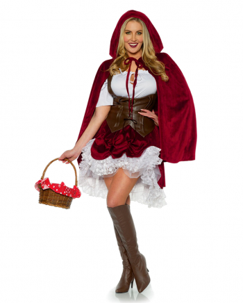 Little Red Riding Hood Ladies Costume Deluxe