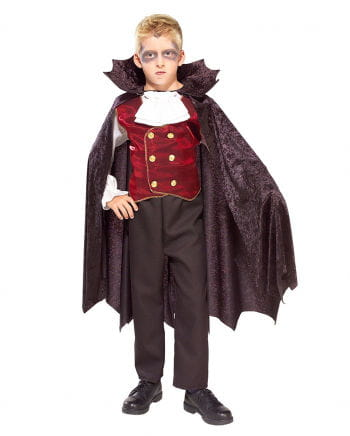 Kleiner Vampir Rüdiger Kinderkostüm Gr L
