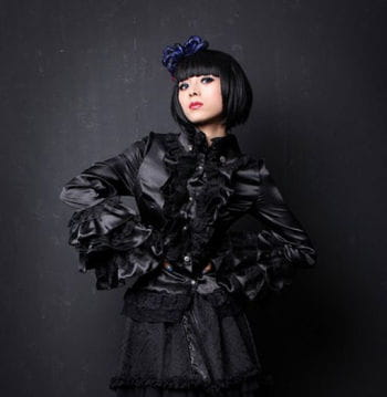 Frilly blouse victorian