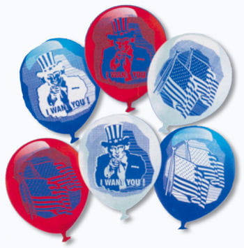 Uncle Sam balloons 6 St.