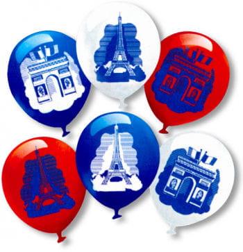 Balloons France 6 Pcs