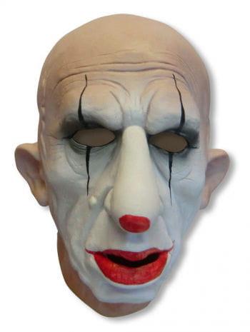 Traurige Clown Maske