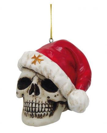 Totenschädel mit Nikolausmütze