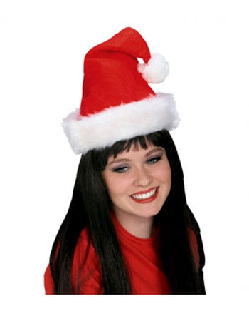 Weihnachtsmann Mütze Royal mit Plüschrand
