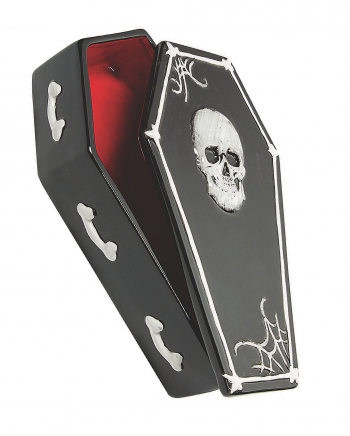 Coffin Box With Ceramic Lid