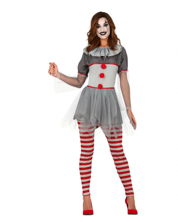 Sassy Clown Ladies Costume For Adults