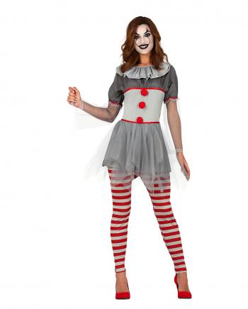 Clown Dame Sassy Erwachsenen Kostüm