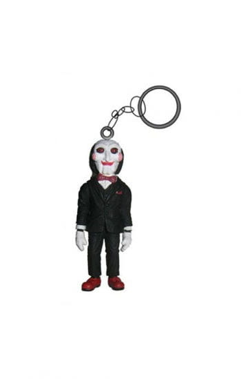 Saw Key Chain Jigsaw Doll