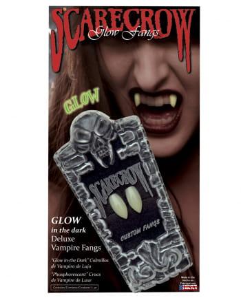 Scarecrow Vampirzähne UV Aktiv Regulär