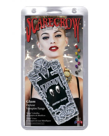 Scarecrow Vampirzähne Metallic Chrom