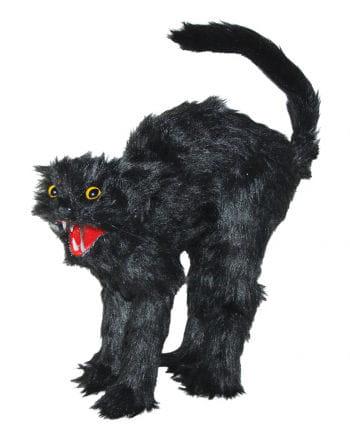 Schwarze Katze Halloween Figur