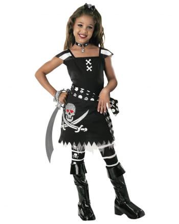 Scarlett Gothic Piraten Kinderkostüm M