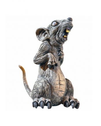 Scary Horror Rat Standing 29cm
