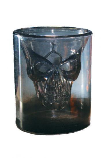 Totenkopf Rauchglas Schnapsglas