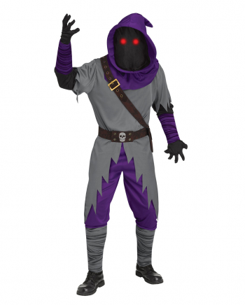 Shadow Runner Adult Costume With Light Effect